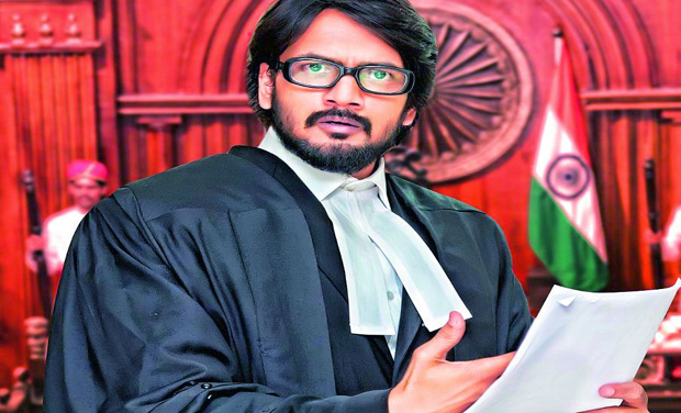 Raam Shankar plays a lawyer in Vaadu Nenu Kadu