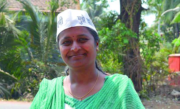 AAP Candidate Swati Kerkar