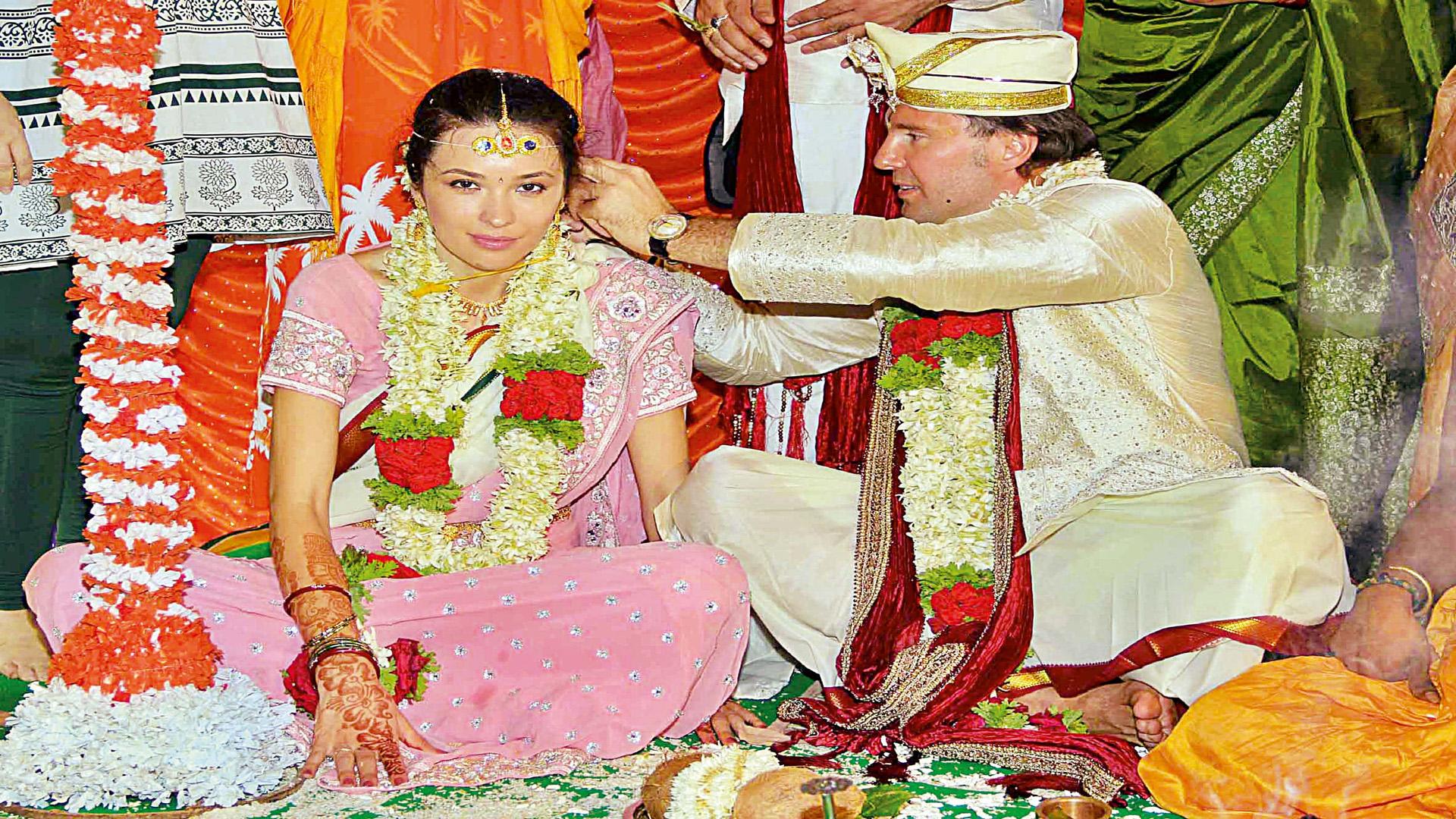Indian ukrainian marriage