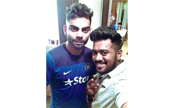 Chennais Stylist Behind Virat Kohlis New Hairdo