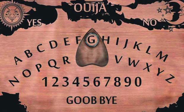 Girl possessed via an Ouija app
