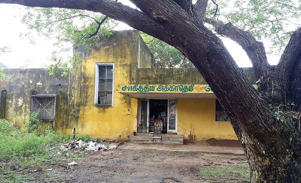 The pathetic condition of the Sahitya Akademi book warehouse at Taramani. (Photo: DC)