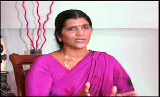 YSRC state leader Lakshmi Parvathi