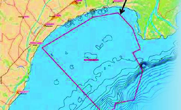The study sphere comprises offshore areas within the block and immediate onshore areas along the block, which include portions of the Krishna wildlife sanctuary, Nizampatnam port and important towns and villages like Chirala, Vetapalem, Bapatla,