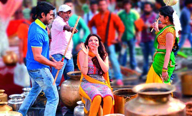 Ram Charan and Kajal Aggarwal