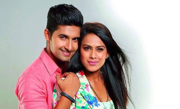 Actors Nia Sharma and Ravi Dubey play the roles of Sid and Roshni in TV show Jamai Raja