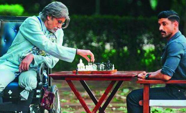Amitabh Bachchan and Farhan Akhtar