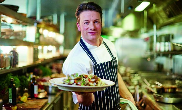 Chef and food show specialist Jamie Oliver