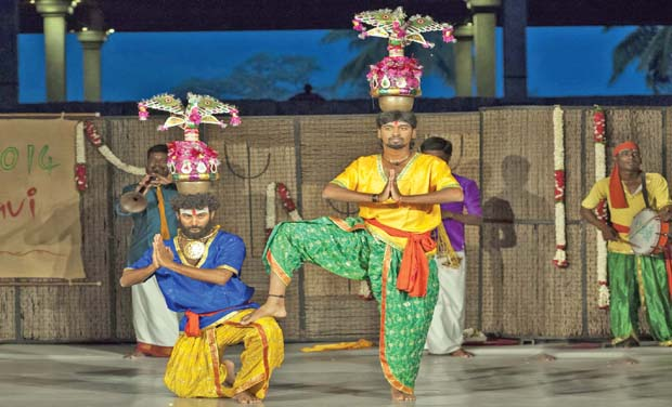 Artistes perform at Isha Foundation (Photo: DC/File)