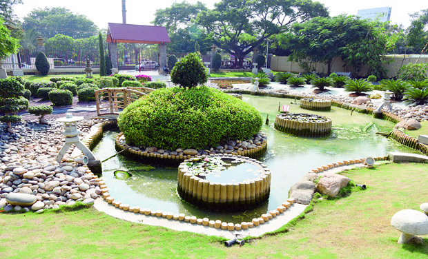 Hyderabad: Two Theme Parks, The Japanese Garden At Jubilee Hills And The  Jurassic Park At Lotus Pond, Though Completed Are Waiting For Inauguration.