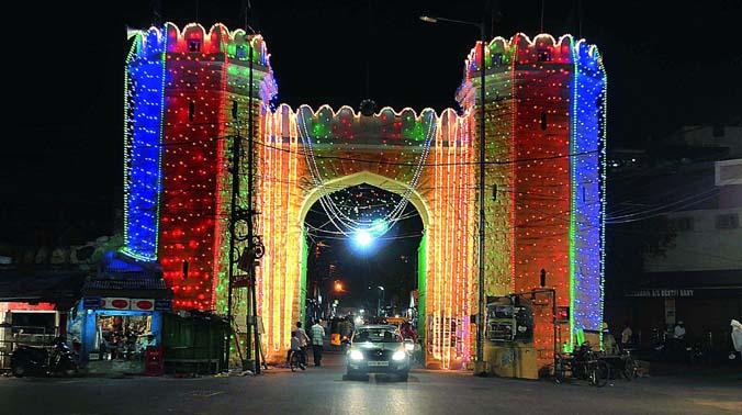 Hyderabad Muslims prepare to celebrate Milad-Un-Nabi