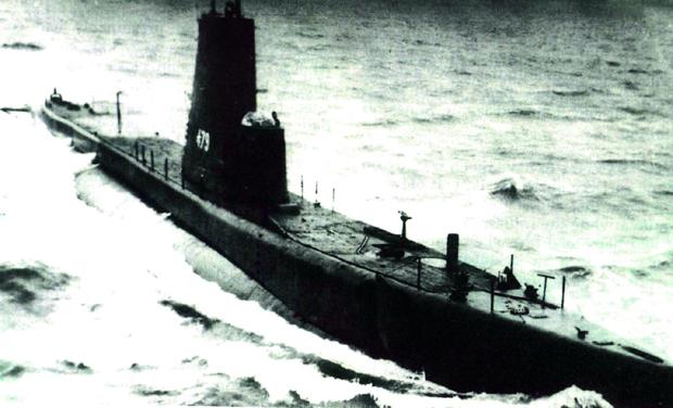 A file photo of Pakistan Navy submarine PNS ghazi.