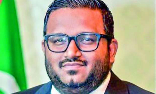 Maldives Vice President Ahmed Adeeb