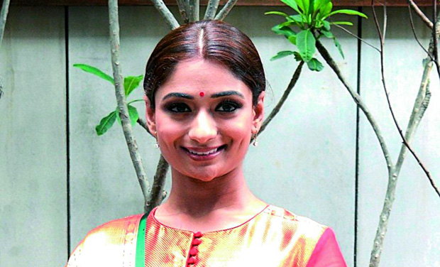 Pricey affair: Dancer Sandhya Raju in a Gaurang Shah outfit that costs Rs 1,89,500