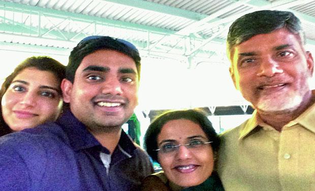 Priority: Brahmani, Lokesh, Bhuvaneshwari and N. Chandrababu Naidu