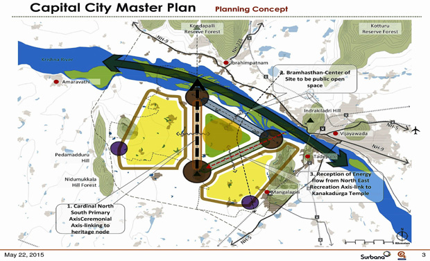 Andhra pradesh capital puja site identified andhra pradesh capital city master plan malvernweather