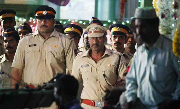 Actor Ajay Devgn in Rohit Shetty's, 'Singham 2',  Photo Courtesy: Varinder Chawla