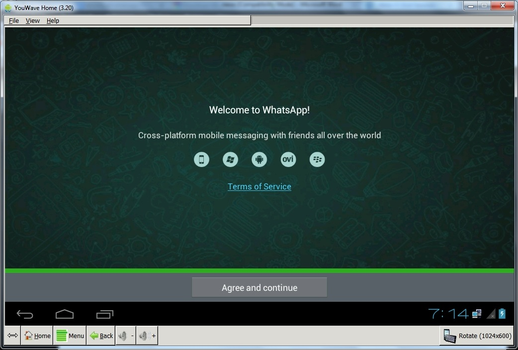 whatsapp for windows 7 32 bit with bluestacks