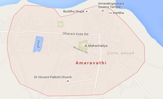 Singapore to submit andhra pradesh capital plan on may 25 amaravati andhra pradesh new capital region photo courtesy google maps malvernweather Choice Image