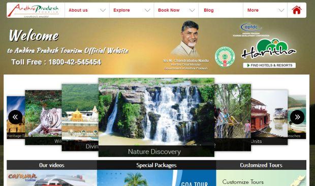 Andhra Pradesh Tourism Official Website