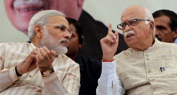 File photo of Narendra Modi and Lal Krishna Advani