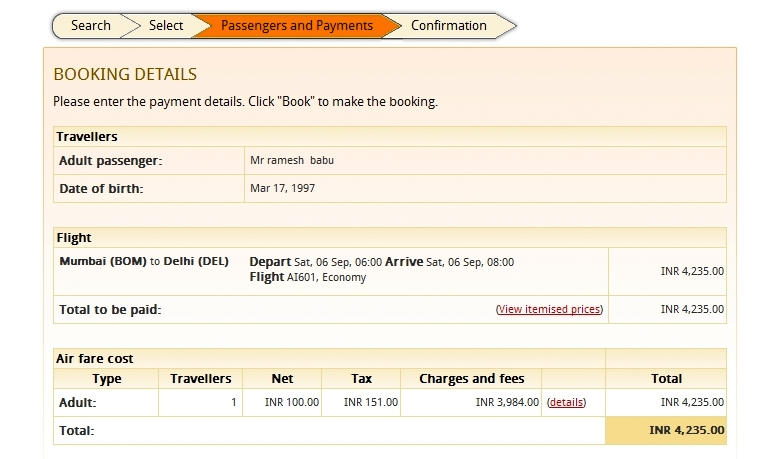 Can T Get Through Air India Website To Book Tickets Try This