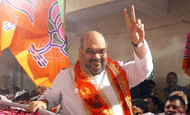 BJP leader and general secretary Amit Shah (Photo: DC archives)