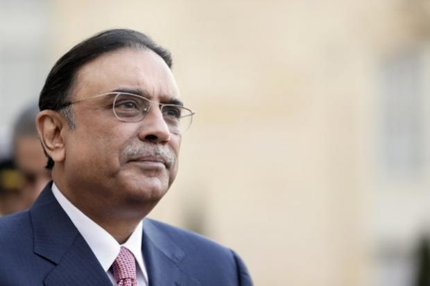 Soon after Hussain's arrest, Mr Zardari and other top PPP leaders from Sindh flew to Dubai and have remained there since (Photo AFP)