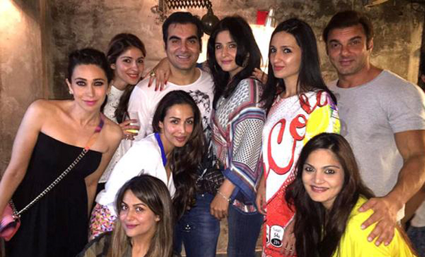 Bollywood celebs put on their party shoes and celebrated Arbaaz Khan's birthday yesterday. Although Salman couldn't be present due to his prior work commitments, other family members made sure to be present besides Arbaaz's side when he brings in