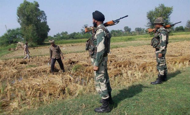 Pakistan violates ceasefire along international border in J&K
