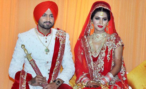 IN PICS| 22 yards to seven vows, Harbhajan Singh marries Geeta ...