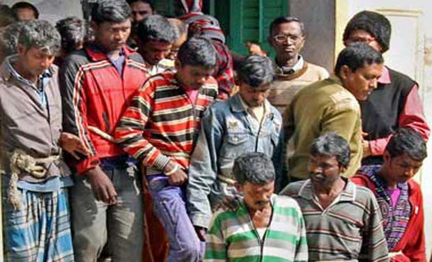 The accused in the West Bengal gangrape case (Photo: PTI)
