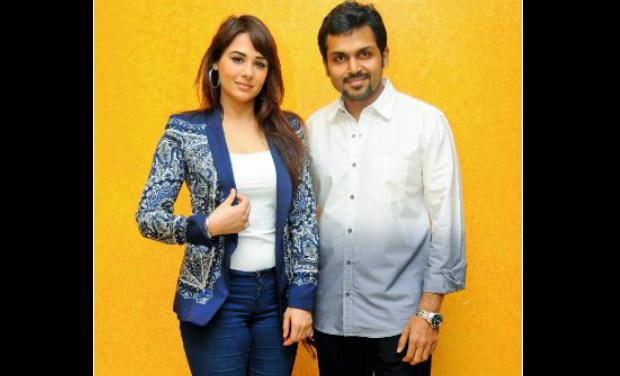 Tamil movie 'Biriyani' stars Karthi and  British Indian model and Punjabi actor Mandy Thakar in lead roles.