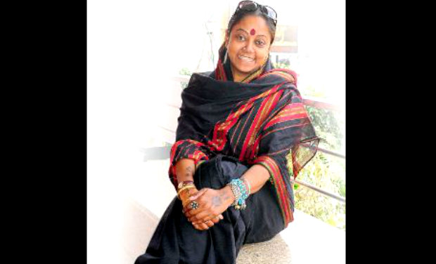 A fighter: Neeraja successfully won a power struggle of four years.