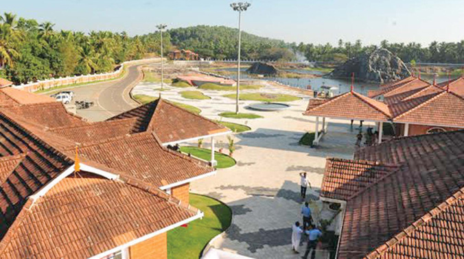 A view of Sargaalaya Arts and Crafts Village at Iringal near Vatakara. The fifth edition of the crafts festival will begin on Sunday. 	(Photo: FILE)