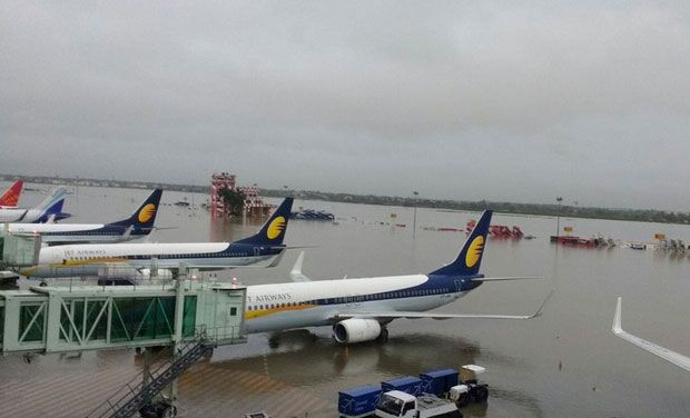 The AAI had on Friday declared the runway fit for operating technical ferry and relief flights after an inspection by its staff. (Photo: PTI)