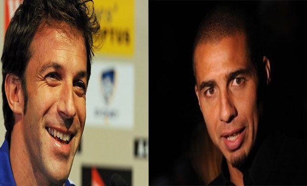 Alessandro Del Piero and David Trezeguet