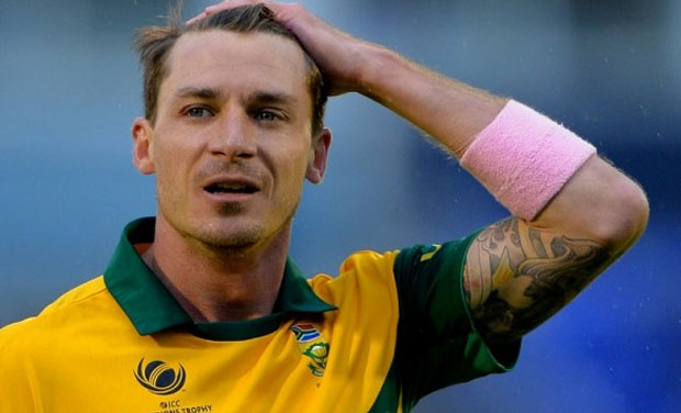 dfc99b08d22 South African fast bowler Dale Steyn plays his 100th One Day International  (ODI) on