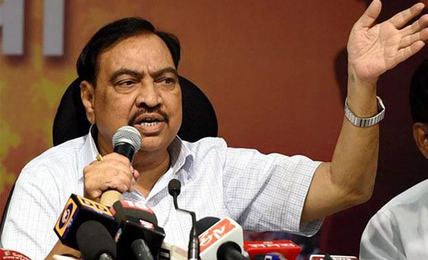 Maharashtra revenue minister Eknath Khadse (Photo: PTI)