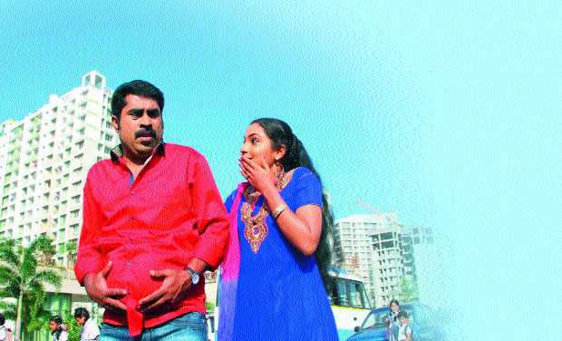 'Garbha Sriman' directed by Anil Gopinath, has been stayed for a month