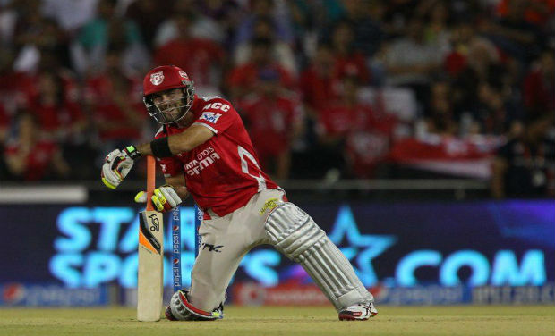 Glenn Maxwell has managed to get better off CSK bowling attack on both the occasions KXIP faced the Dhoni-led side in IPL 7. Photo: BCCI
