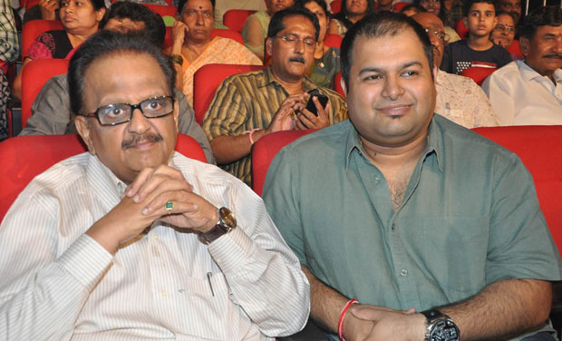 File photo of Singer SP Balasubrahmaniam and music composer S Thaman