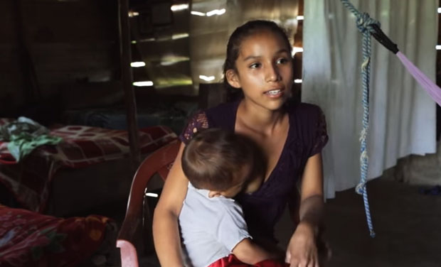 In Guatemala, Girls Aged 10 Years Becoming Mothers Most -6031