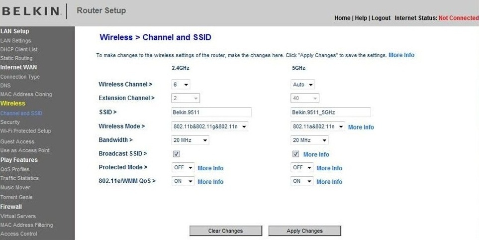 how to change the router frequency channel tpg