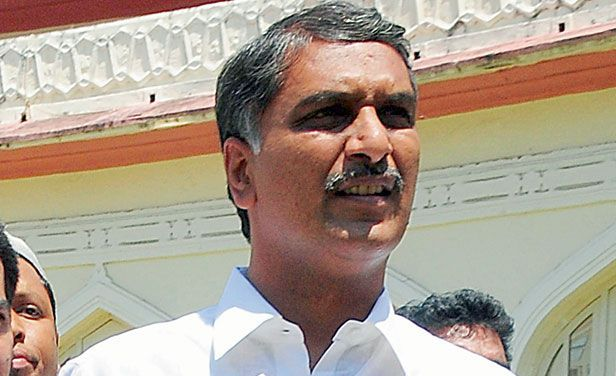 Telangana State Irrigation Minister T. Harish Rao