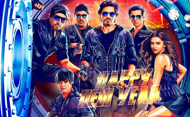 Poster of Happy New Year.