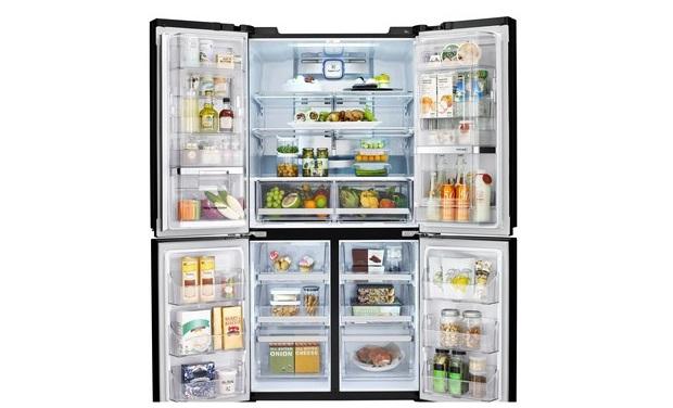 Lg Introduces Indias Largest Capacity Refrigerator