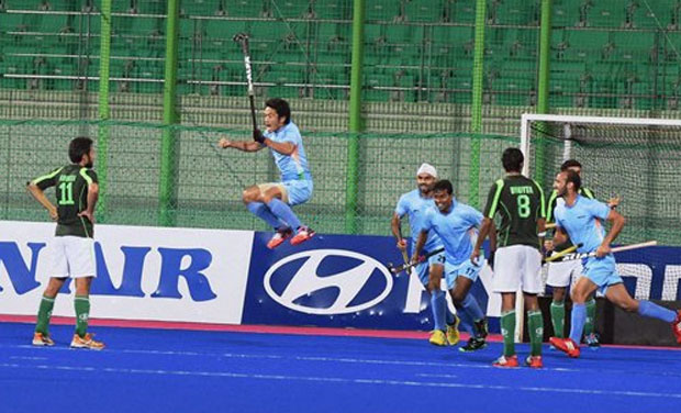 Asian Games Ind vs Pak: India beat Pakistan to clinch gold, qualify for Rio OlympicsPhoto: PTI