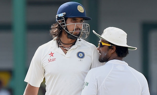"Ishant Sharma was charged under Article 2.1.7, which relates to ""using language, actions or gestures which disparage or which could provoke an aggressive reaction from a batsman upon his/her dismissal during an International Match"". (Photo: AFP)"