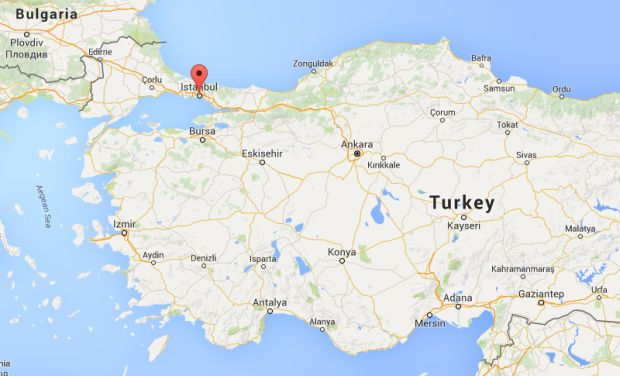 Report blast near istanbul metro station six injured istanbul turkey photo courtesy google maps gumiabroncs Gallery